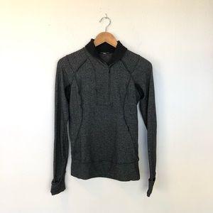 Think Fast Lululemon Herringbone Pullover Size 8